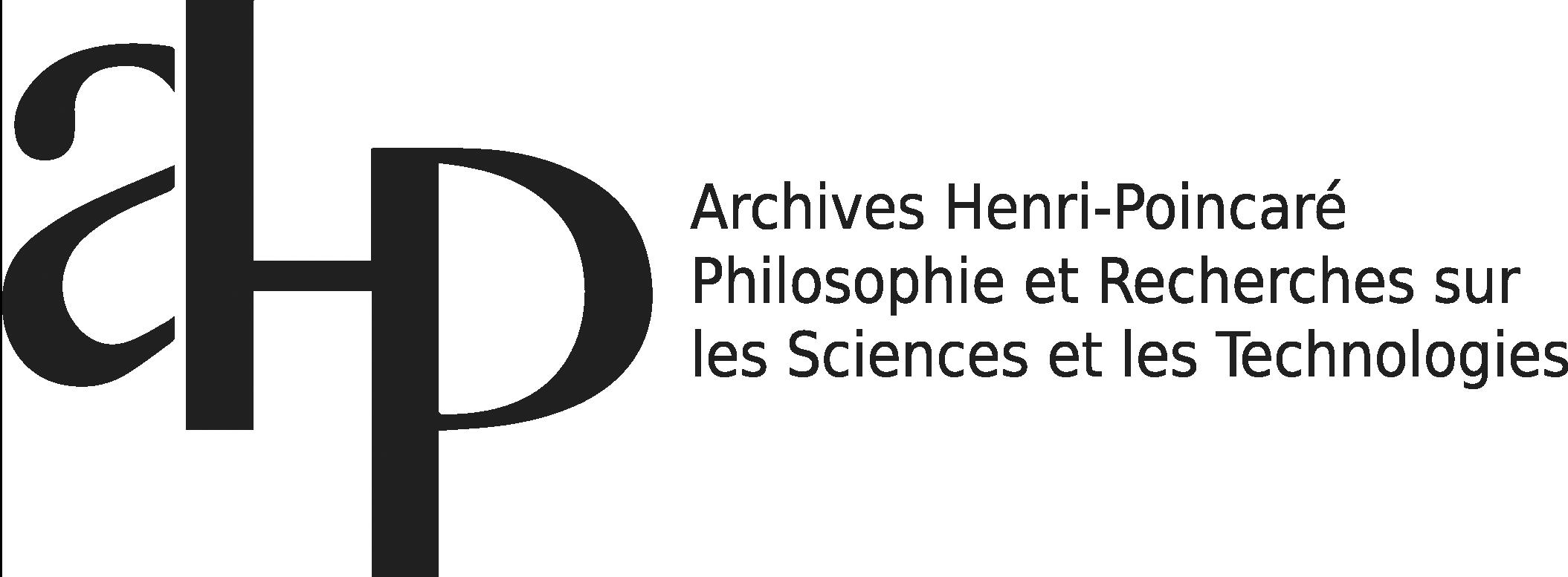 Archives Poincaré